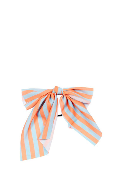 Stripe Ribbon Hair Tie