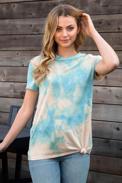 Feeling This Way Tie Dye Top