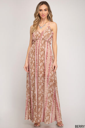 Till I Found You Maxi Dress