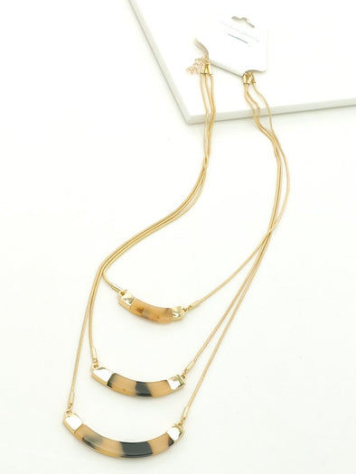 Layer Me Tortoise Necklace