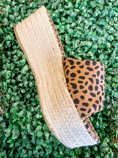 Purchase Cheetah Espadrille Sandal
