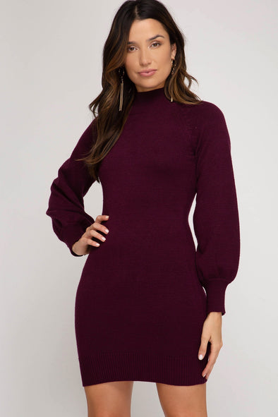 Magic Moments Sweater Dress