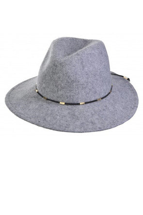 Around Town Wool Hat - Grey