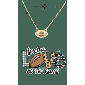The Love For Football Necklace