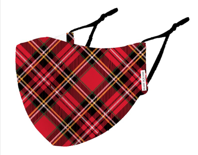 Face Mask Tartan - Adult