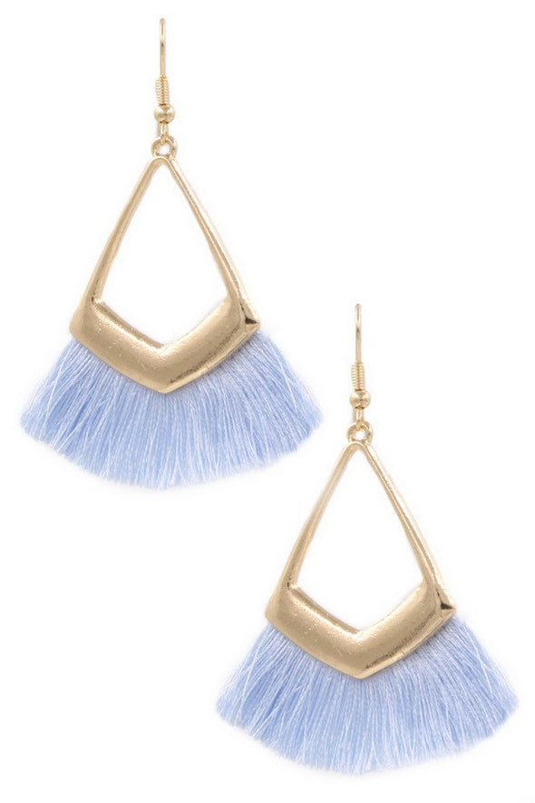 Fringe Benefits Earrings