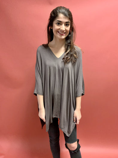 Stand Your Ground Tunic - Mocha