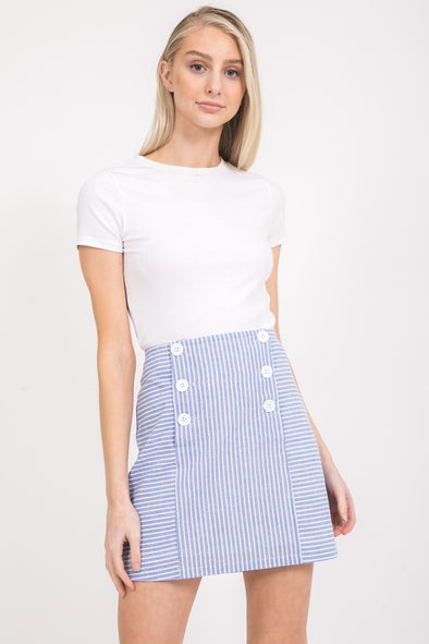 Away We Went Stripe Skirt