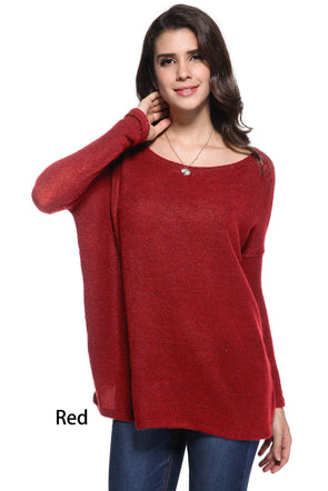 Give Me More Piko Sweater - Red