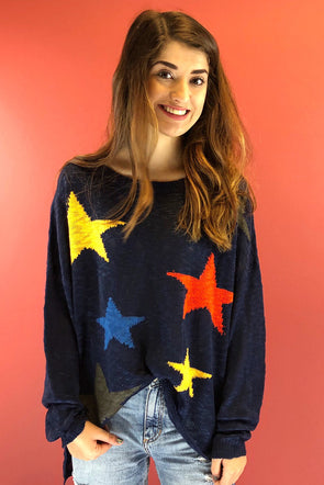 Stars All Around Sweater
