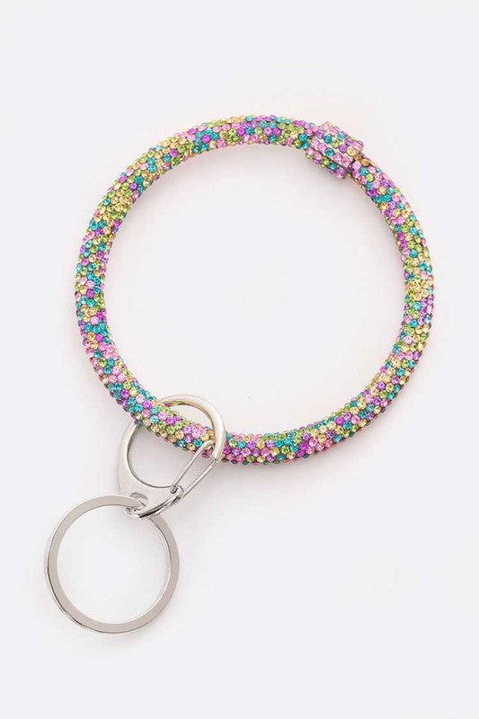 Crystal Key Ring - Multiple Colors