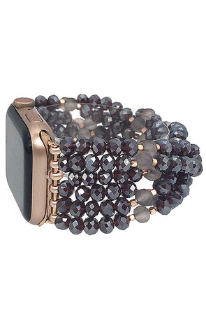 Crystal Bead Apple Watch Band