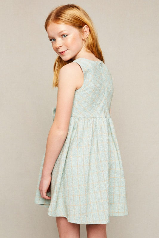 Sweet Charm Bow Dress - Tween