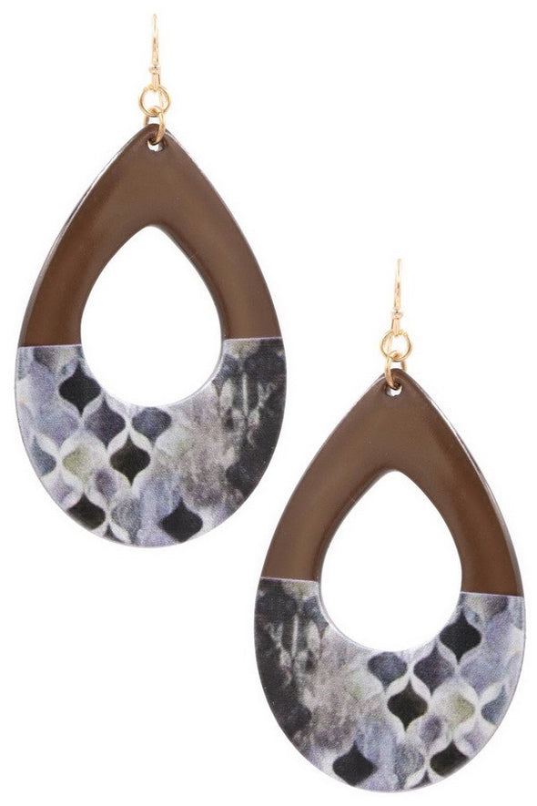 Be This Close Earrings - Multiple Colors