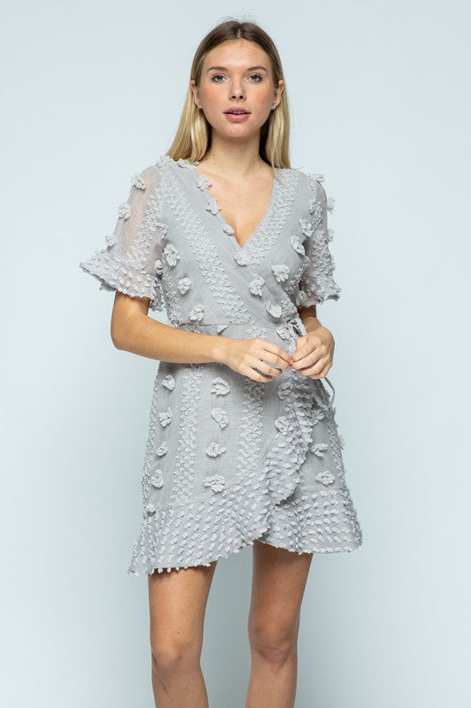 Girl Like You Swiss Dot Dress