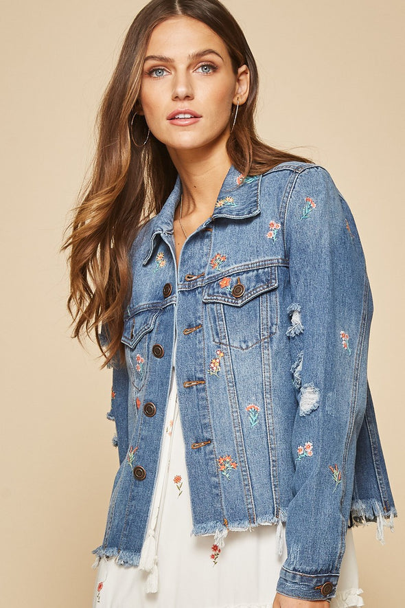 Daisy Fields Denim Jacket
