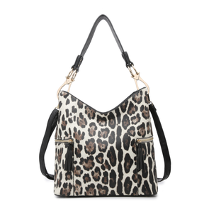 Rochelle Print Hobo Bag
