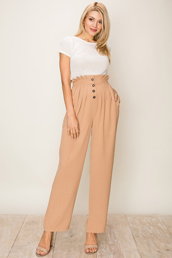 Everything About You Paperbag Pants