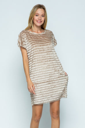 All I Need Fringe Dress