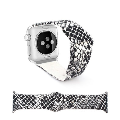 Snakeskin Apple Watch Band