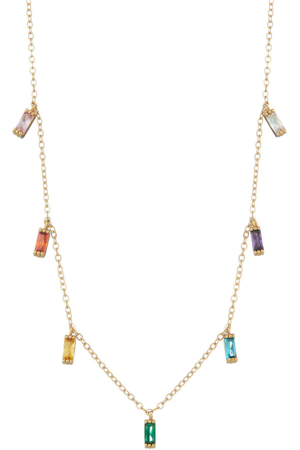 Dripping Jewels Necklace