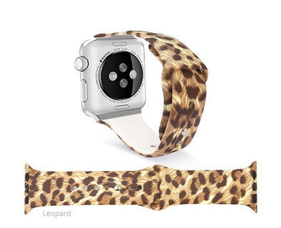 Leopard Apple Watch Band