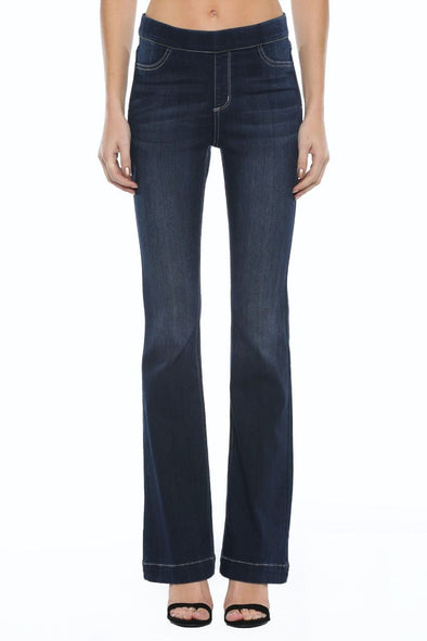 My Love Flare Jeans - Dark Blue