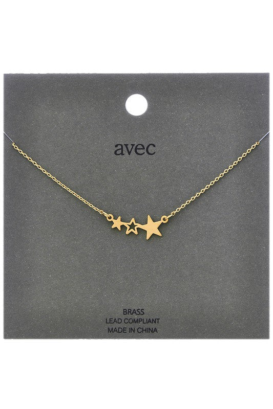 Seeing the Best Star Necklace