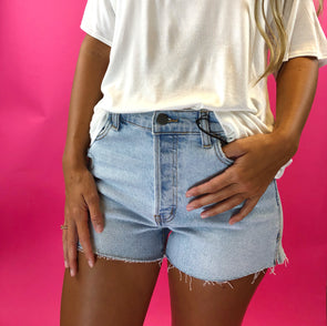 Forget the Day Denim Shorts