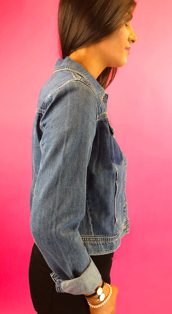 Where Will You Go Denim Jacket