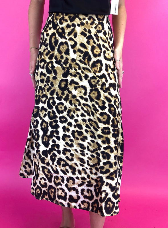 Know You Can Leopard Skirt