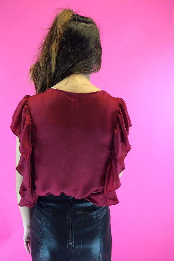 Making It Ruffled Bodysuit