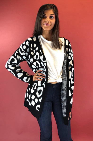 These Days Leopard Cardigan