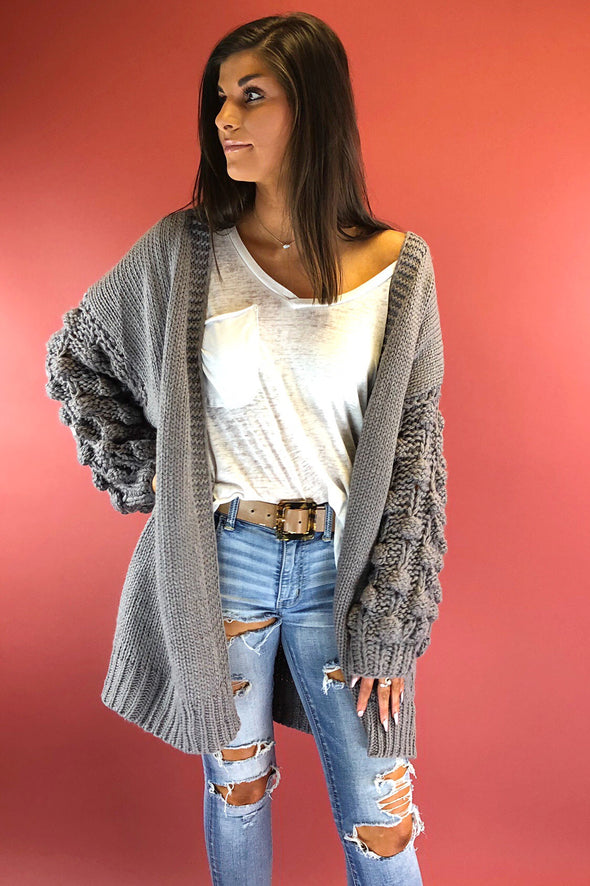 My Way Home Oversized Cardigan
