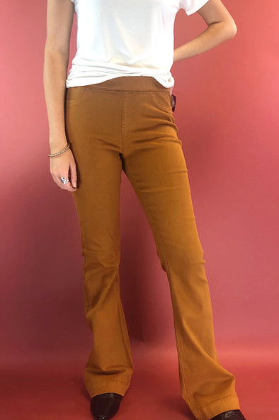 My Love Flare Jeans - Caramel