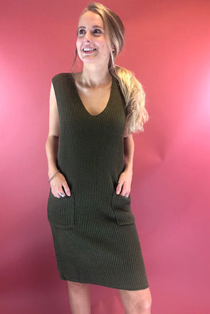 Camila Sleeveless Knit Dress