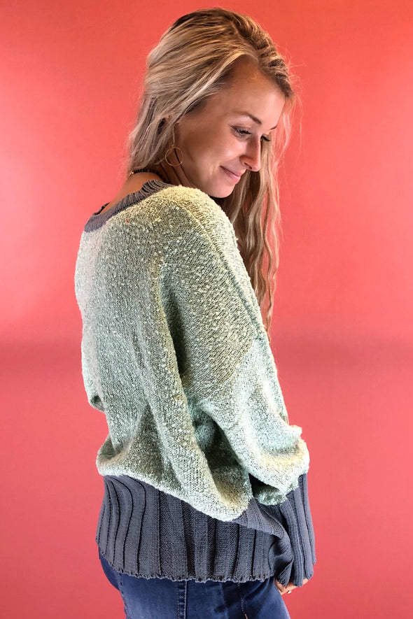 Mixing it Up Sweater