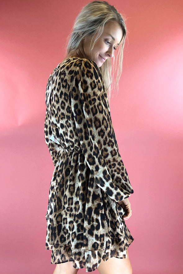 Writing On the Walls Leopard Dress