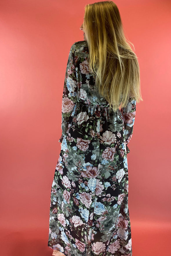 Just As Good Floral Maxi Dress
