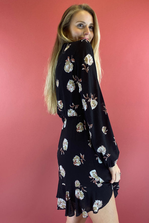 Go Where You Go Floral Dress