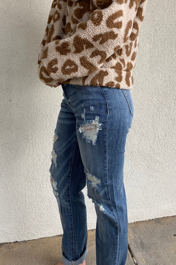 Dear Me Destroyed Boyfriend Jeans