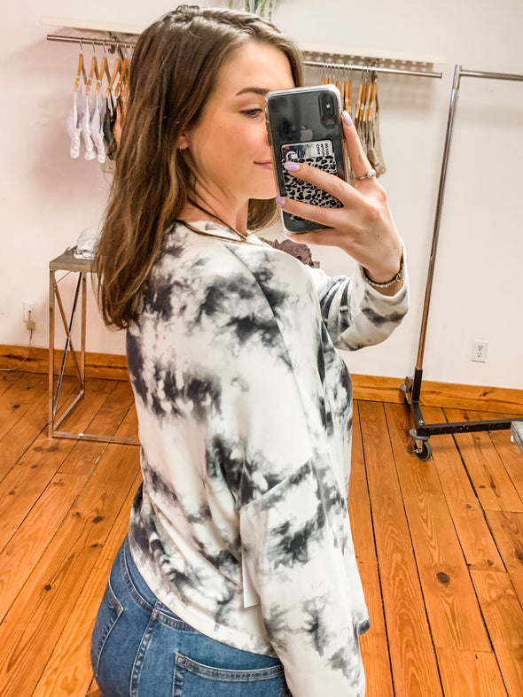 Mix it Up Tie Dye Top