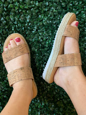 Superb Cork Sandals