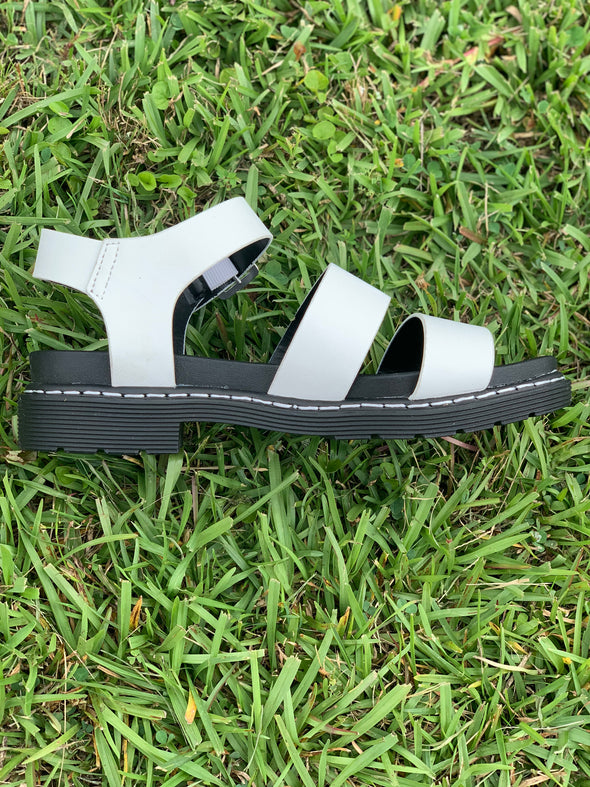 Seed Sandals - White
