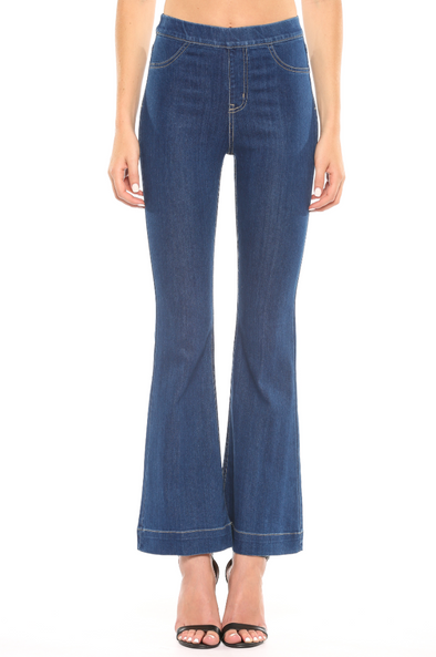 My Love Flare Jeans - Dark Wash