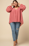 Color Me Happy Top - Plus Size