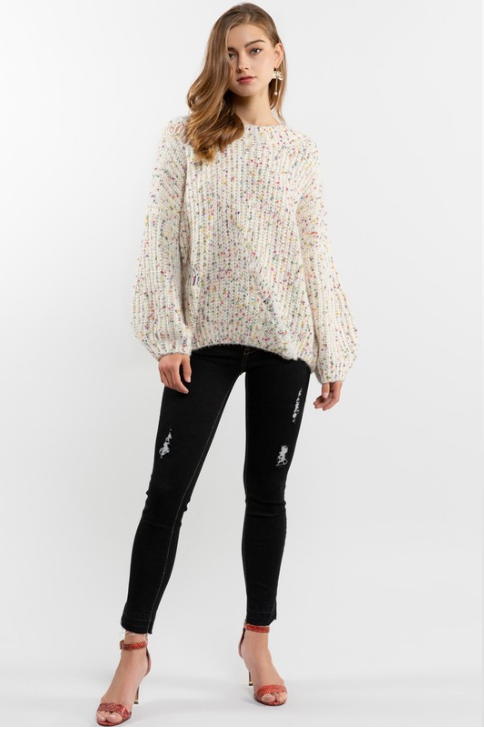 Confetti Everyday Sweater