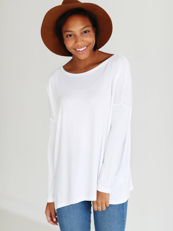 Close to Perfect Piko Top - White