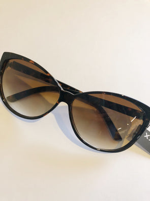 Rounded Frame Cat Eye Sunglasses