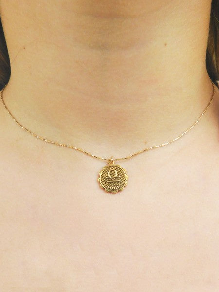 Maneto Chain Zodiac Necklace